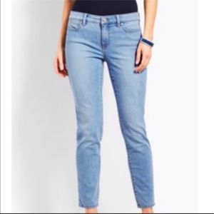 NWT Talbots slim ankle jeans SIZE 2